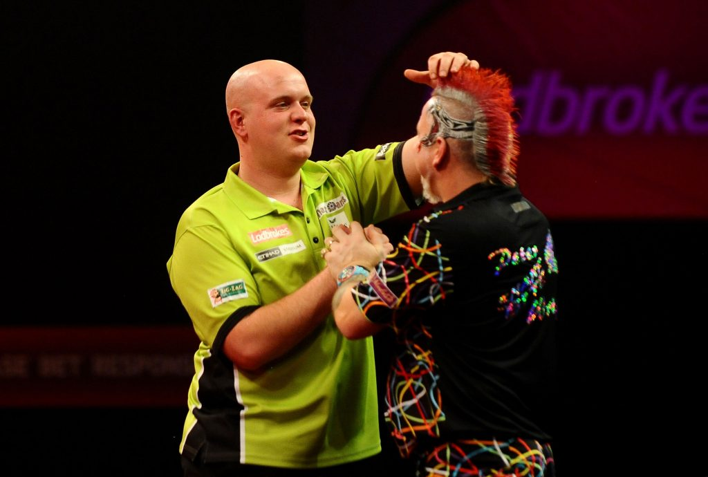 Van Gerwen and Wright