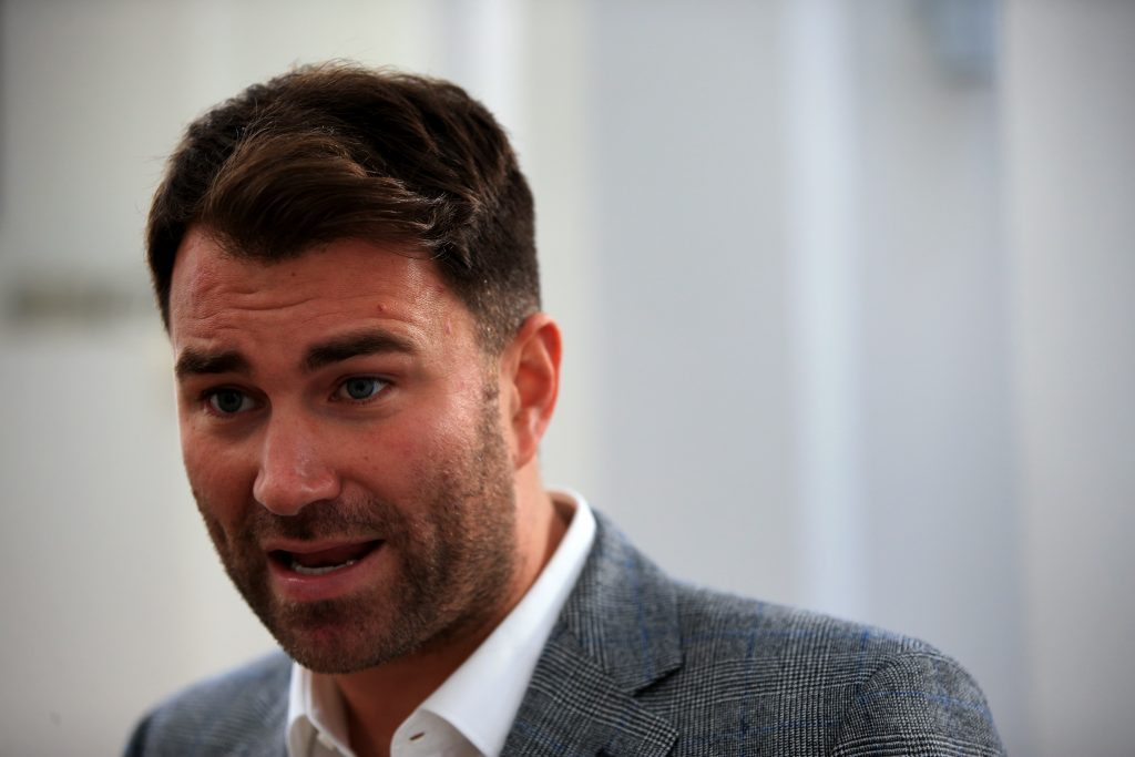 Matchroom's Eddie Hearn
