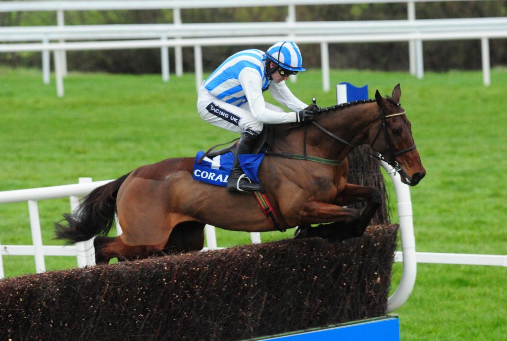 Killultagh Vic and jockey Ruby Walsh.