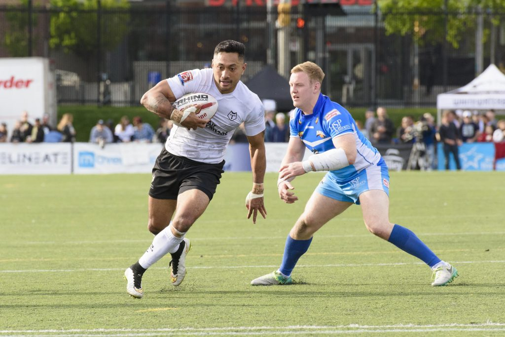 Rugby League: Toronto Wolfpack vs Barrow Raiders