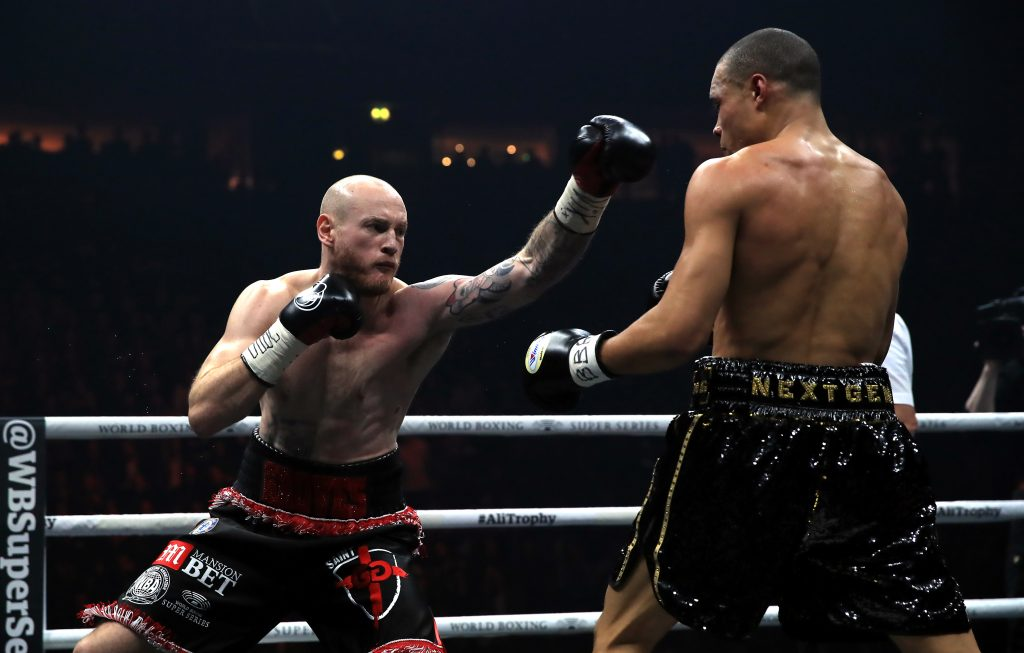 George Groves and Chris Eubank