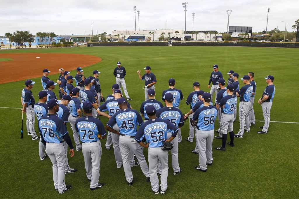 Tampa Bay Rays team