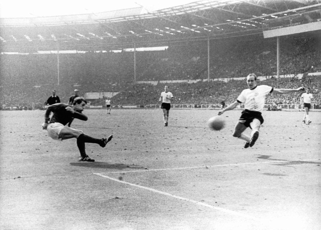 England's Geoff Hurst