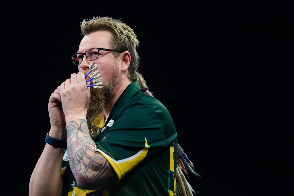 Simon Whitlock of Australia