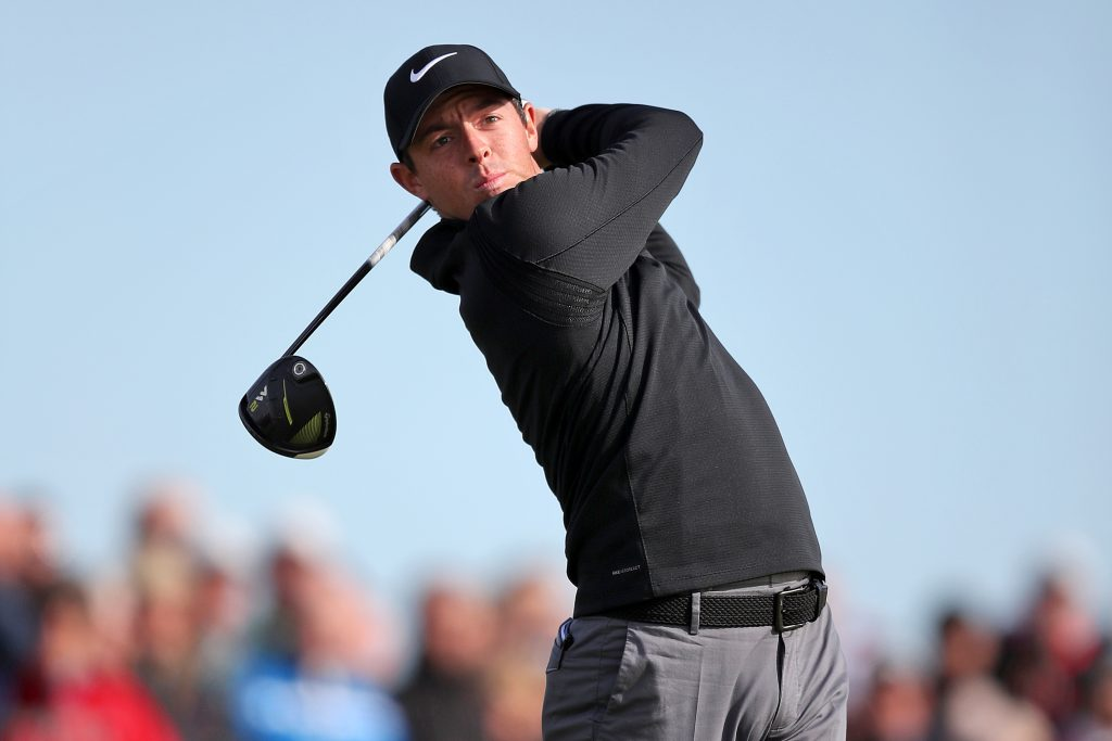 Rory McIlroy in last season's cup. We've tipped him to lead the points as part of our Ryder Cup points odds