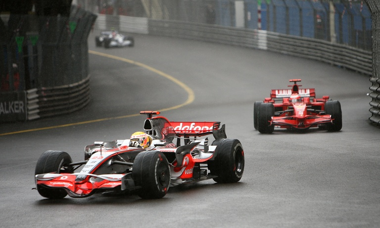 Lewis Hamilton won the 2008 Monaco Grand Prix