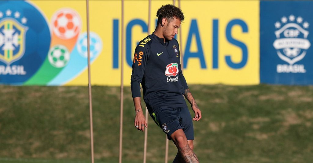 Neymar's World Cup top scorer odds are shorter than those of Gabriel Jesus