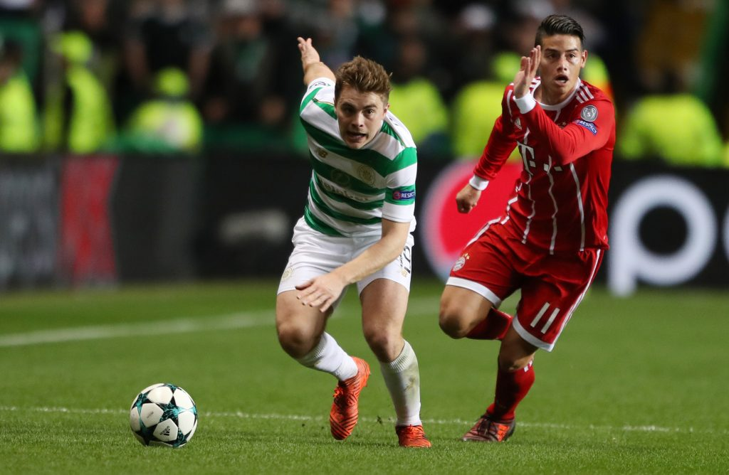 James Forrest and James Rodriguez