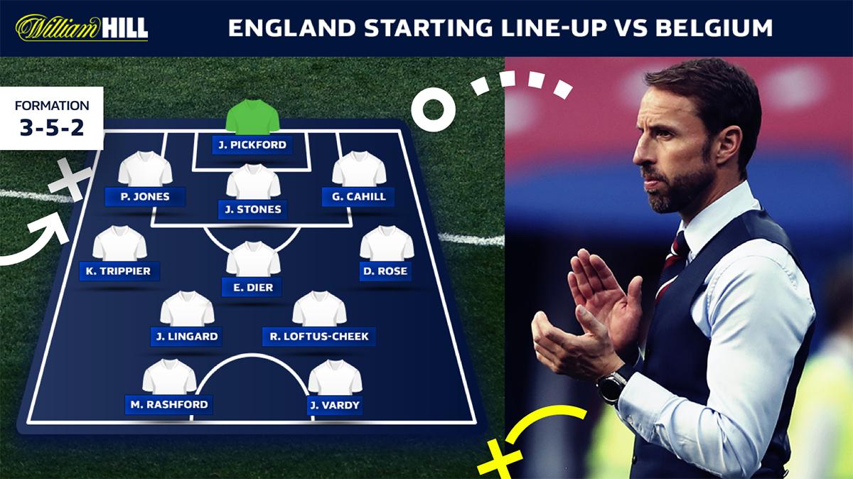 England vs Belgium odds