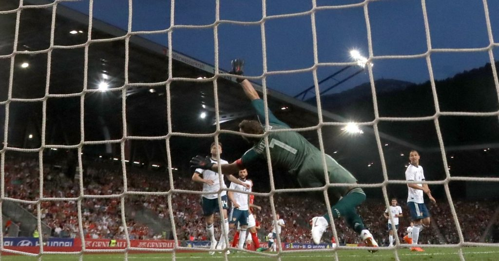 World Cup 2018 Group A denizens Russia conceded a friendly goal to Austria