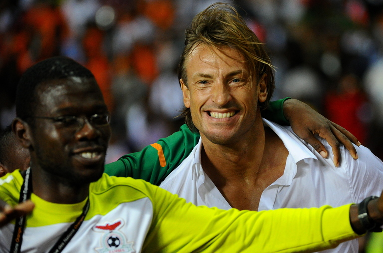 Current manager of World Cup 2018 underdogs Hervé Renard