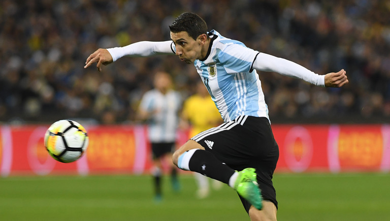 World Cup 2018 Group D contains Argentinian Ángel Di María