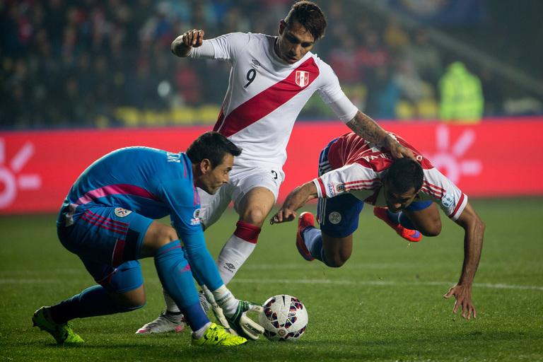 World Cup 2018 underdogs Peru have Paolo Guerrero (Centre)