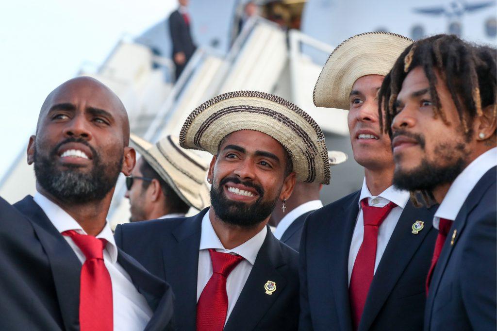 Belgium v Panama - Panamanian Team at the Airport