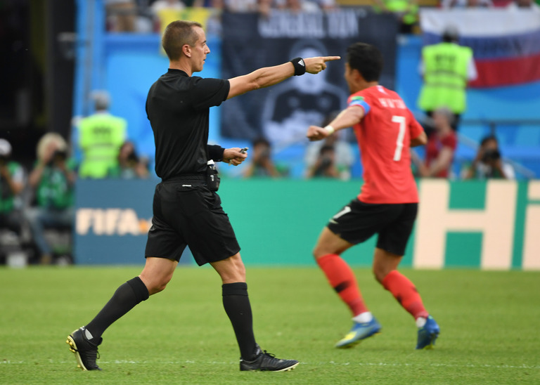 VAR helped Mark Geiger award a goal to South Korea