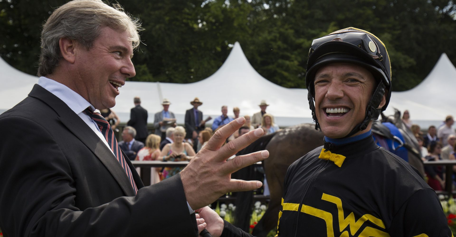 Wesley Ward and Frankie Dettori teamed up to take the 2015 edition of the Diamond Jubilee Stakes at Royal Ascot