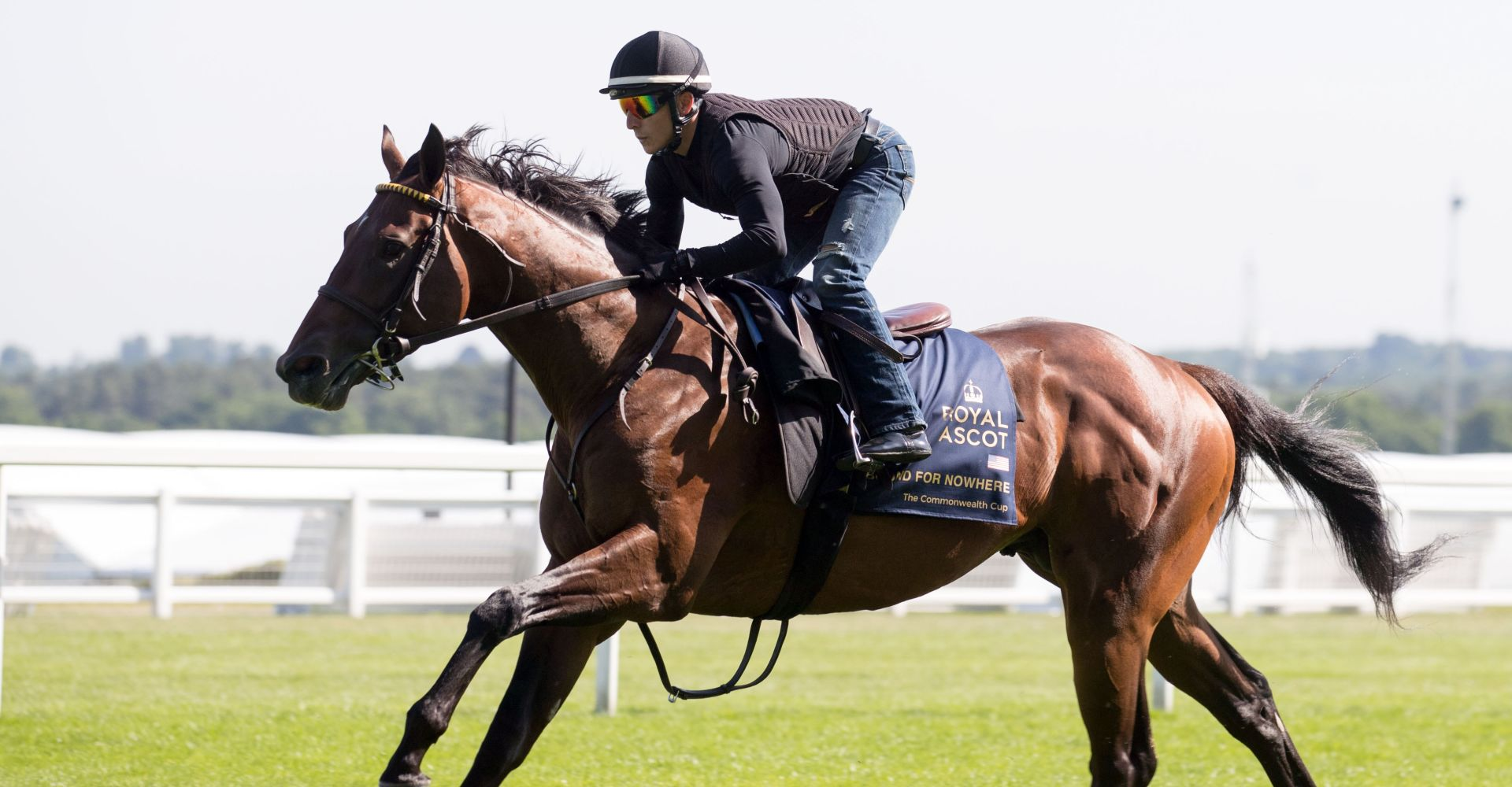 Diamond Jubilee Stakes hope Bound For Nowhere goes for a Royal Ascot workout