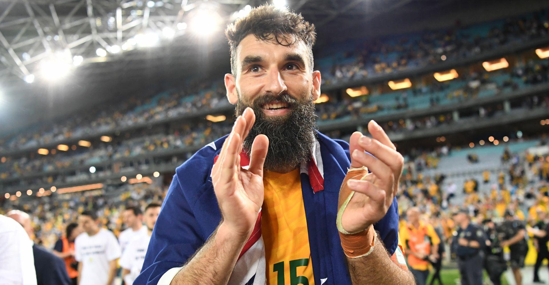 Australia vs Peru odds Mile Jedinak celebraters Australia's World Cup qualification
