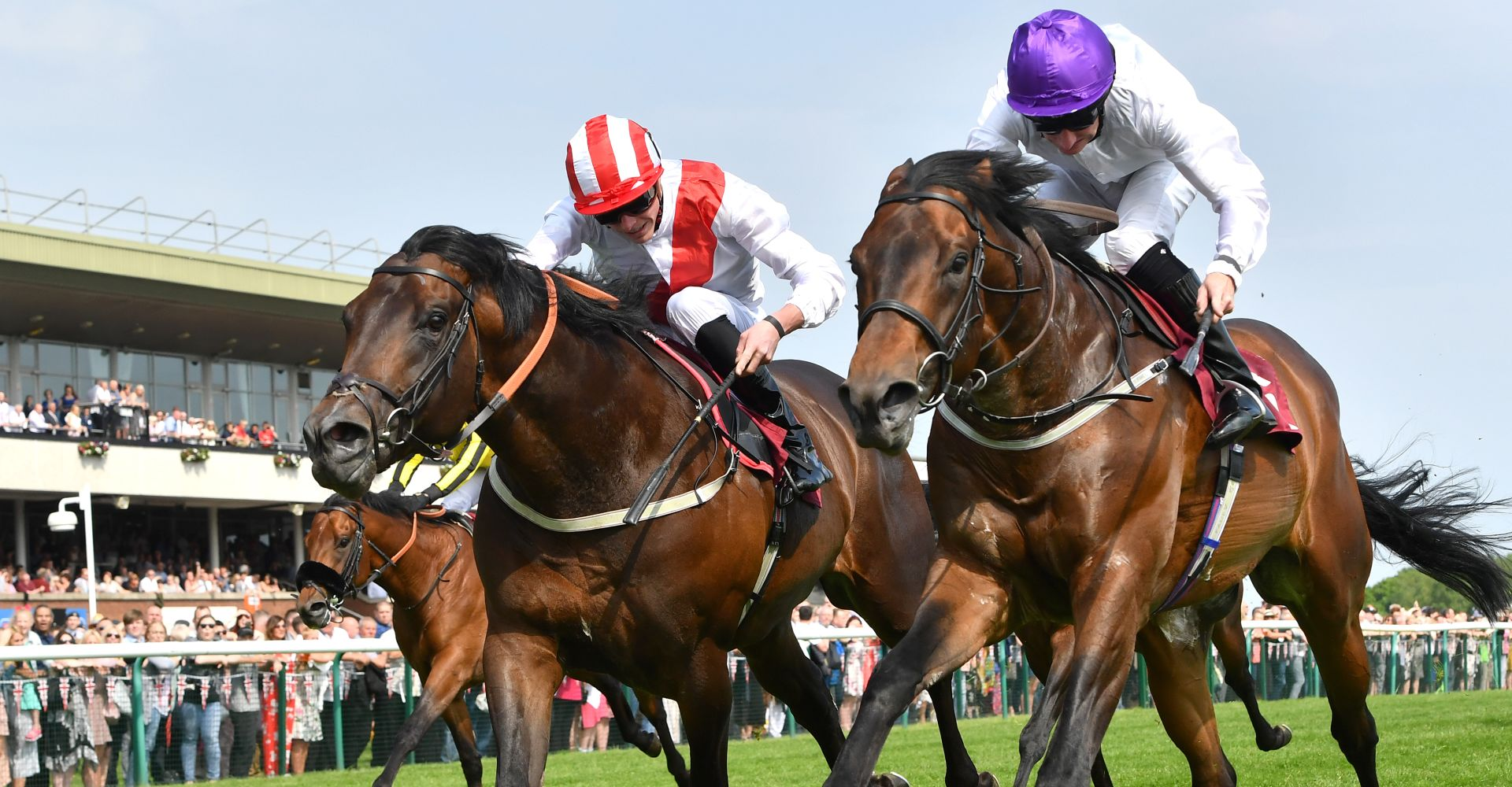 Sands of Mali (r) is one of our Royal Ascot day four tips