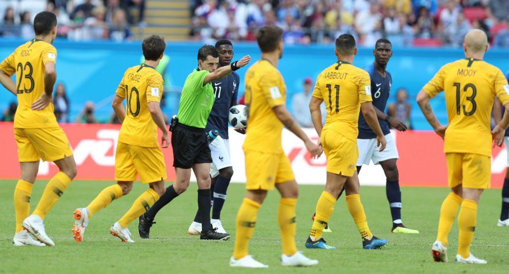 VAR France vs Australia