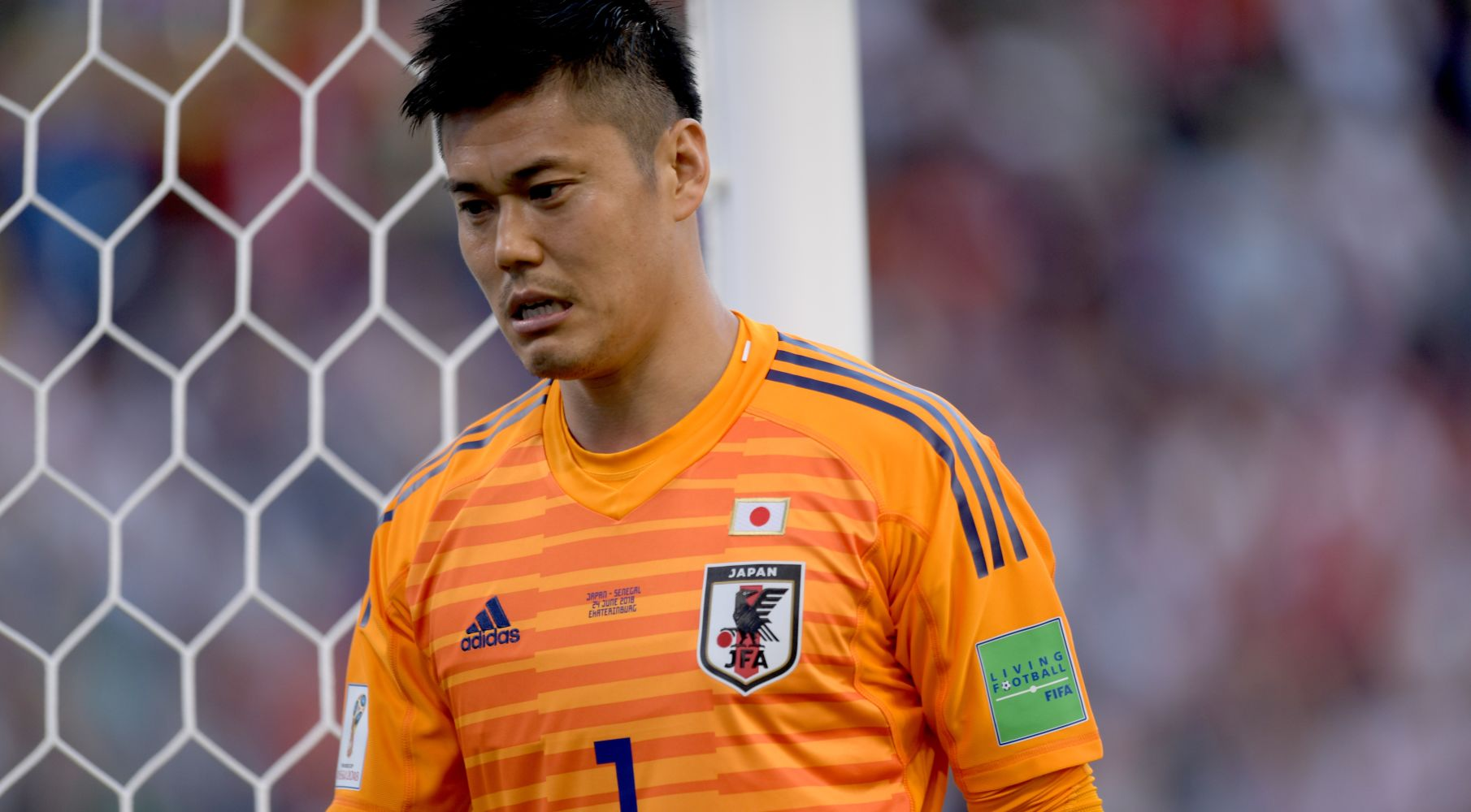 Veteran goalkeeper Eiji Kawashima could be dropped after committing crucial errors