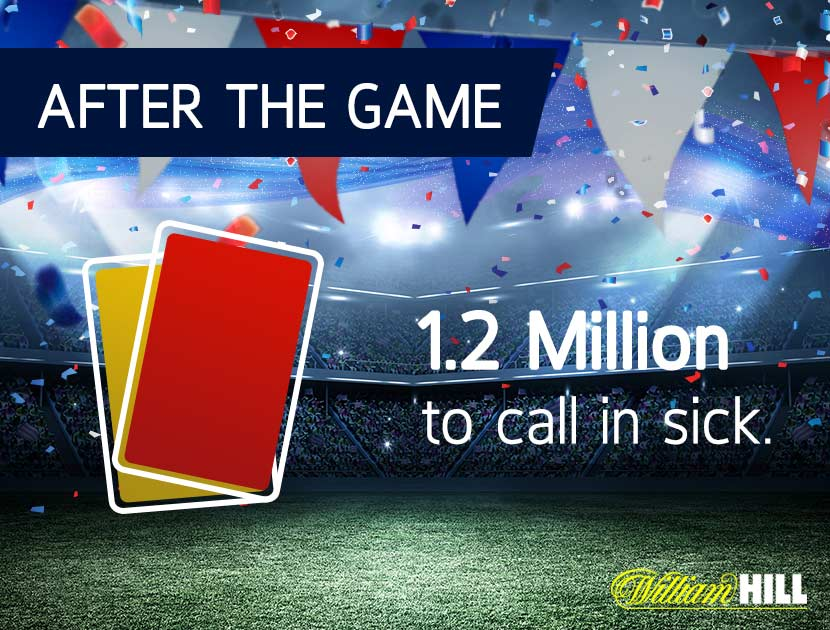How Many people Call in Sick after an England Game?