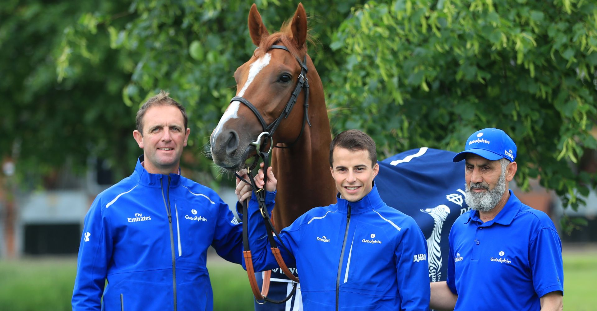 Masar Eclipse odds: Charlie Appleby with his derby winner Masar