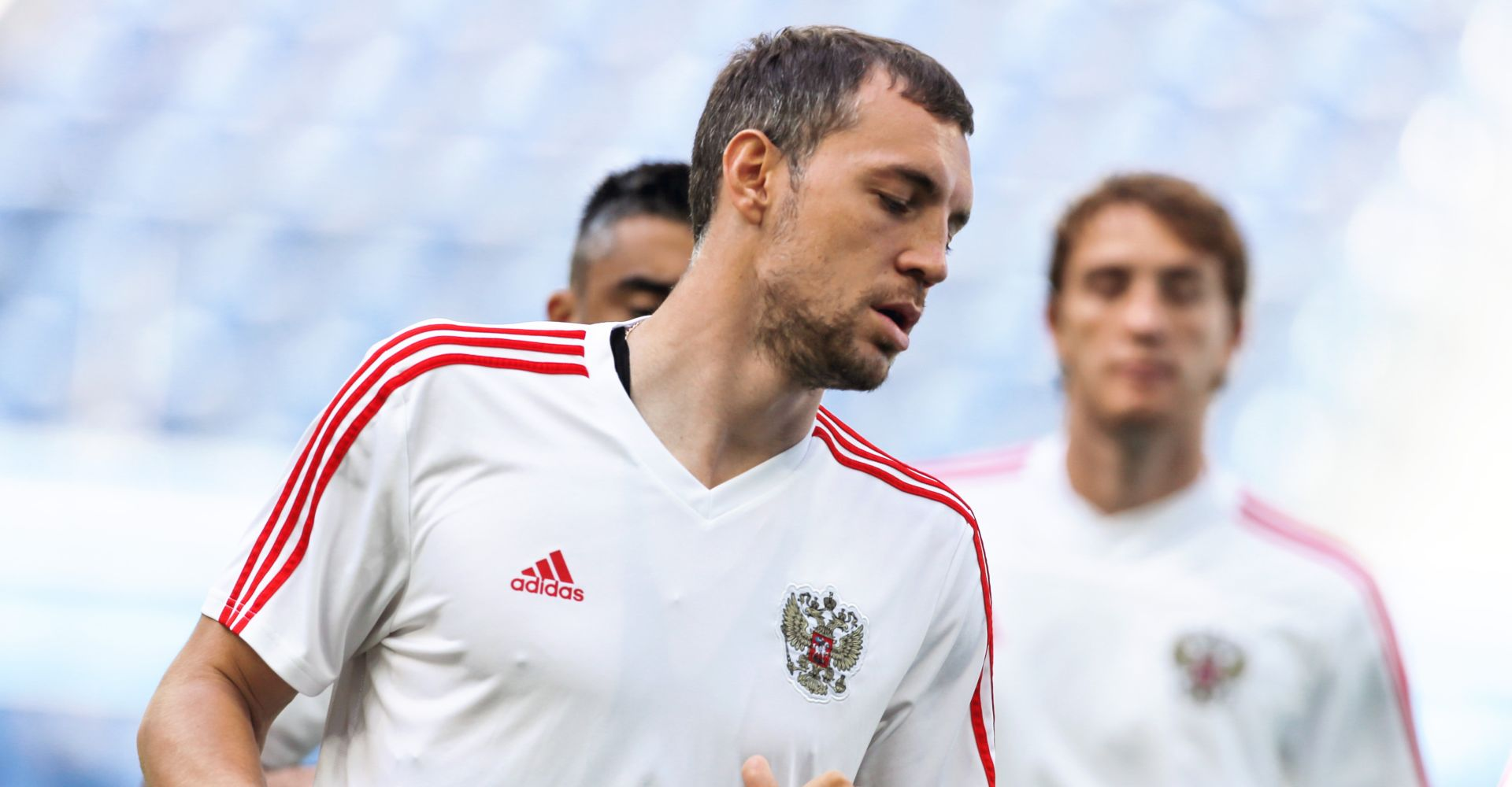 Russia vs Croatia: Sbornaya forward Artem Dzuba has been involved in the majority of his team's goals