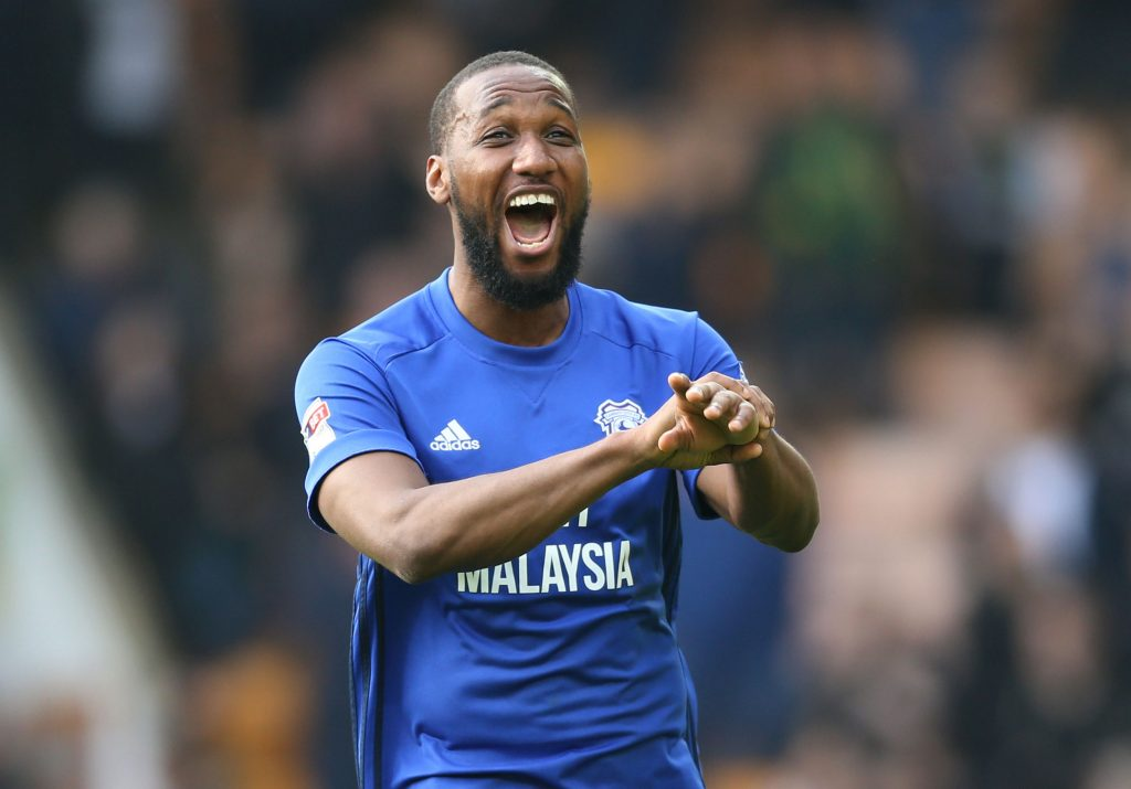Cardiff forward Junior Hoilett, Huddersfield vs Cardiff odds