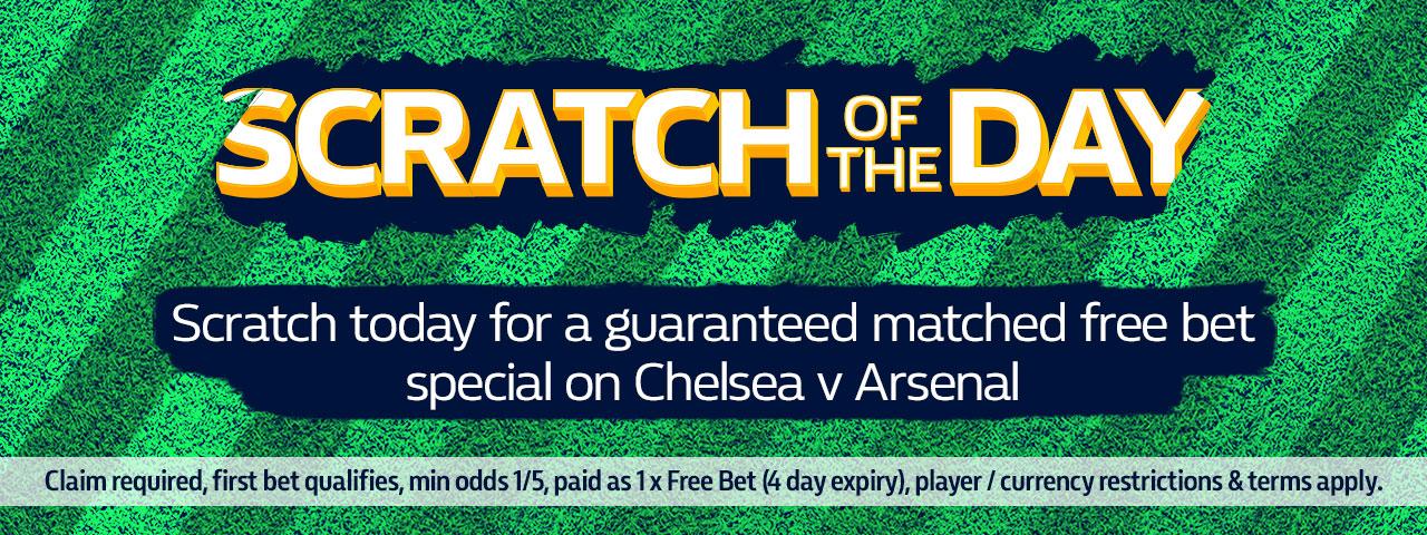 Chelsea vs Arsenal odds