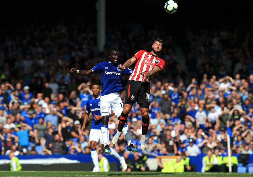 Charlie Austin grafts against Everton and is tipped to score as part of our Liverpool vs Southampton predictions