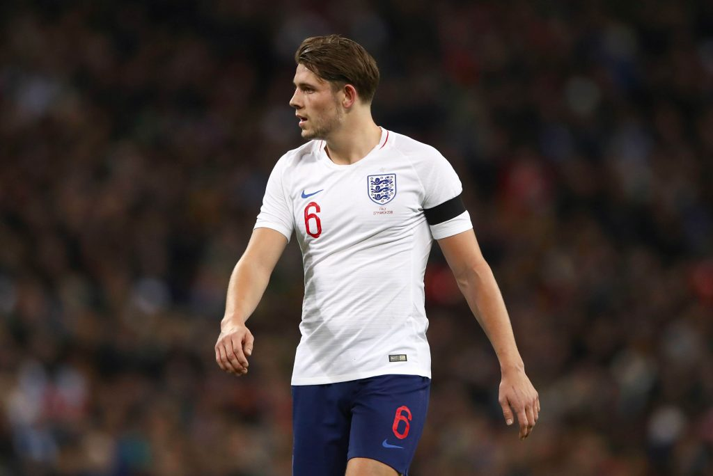 James Tarkowski Burnley defender, tipped to play well as part of our Burnley vs Bournemouth predictions