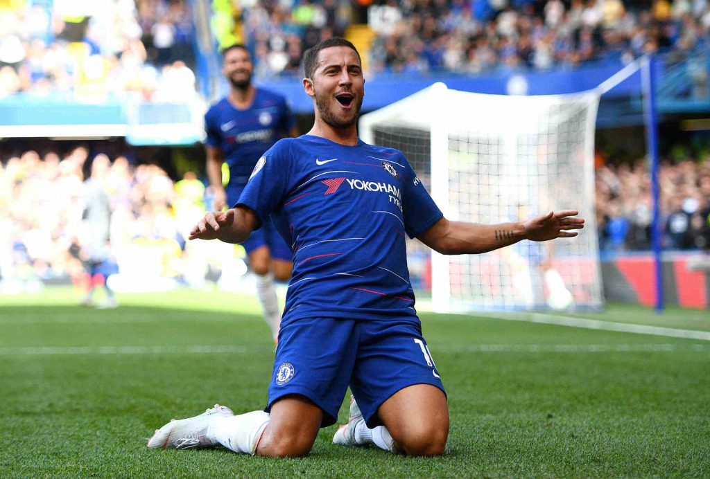 Eden Hazard is tipped to score as part of our Chelsea vs Liverpool predictions