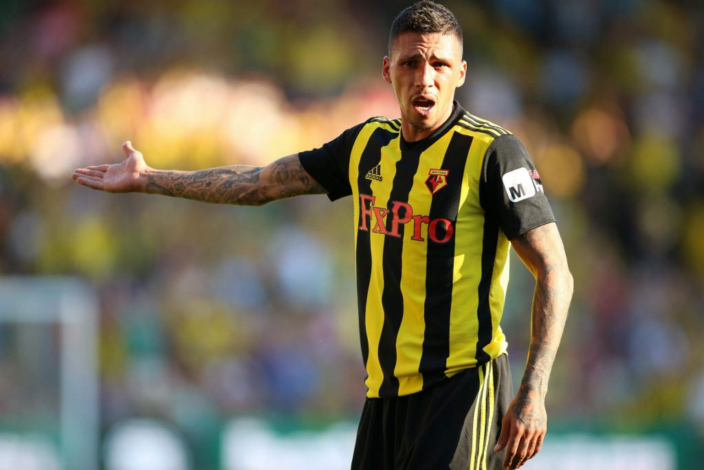 Jose Holebas playing well as part of our Arsenal vs Watford predictions