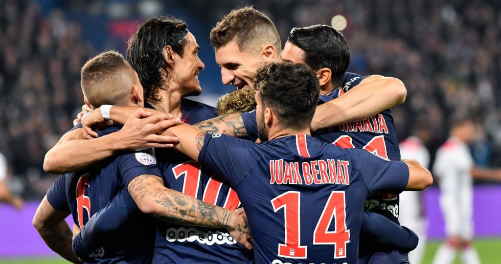 PSG odds on winning all 38 Ligue 1 games