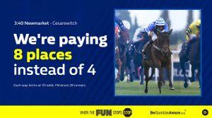 Cesarewitch odds