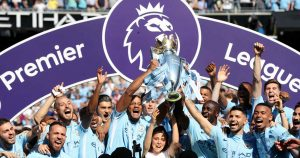 Man City premier league title odds