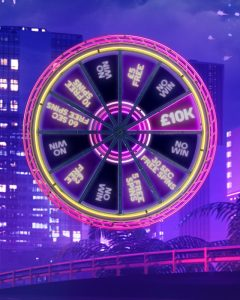 The Big Spin: Enjoy bonuses and a £10k cash prize with