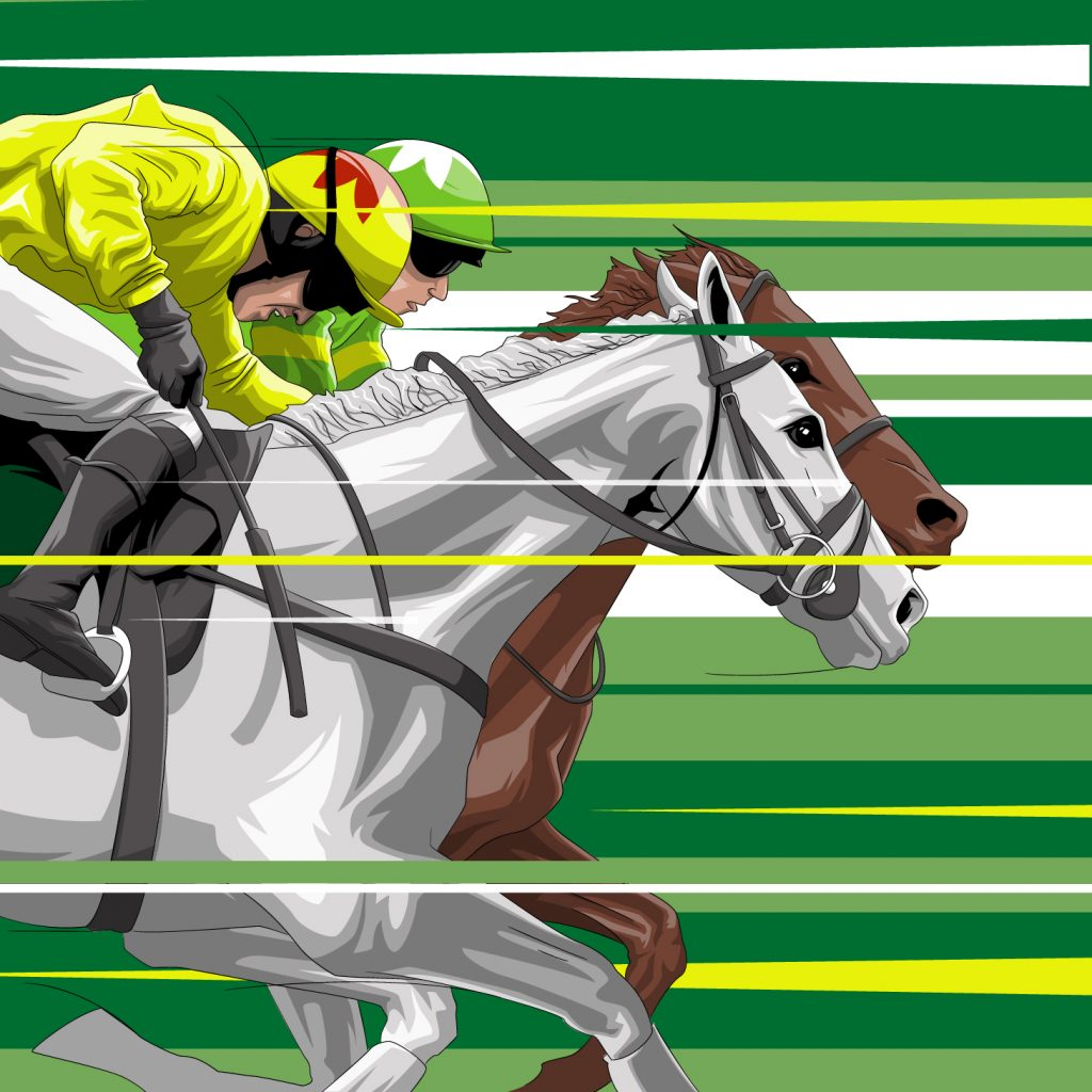 2012 Neptune Collonges beats Sunnyhillboy illustration