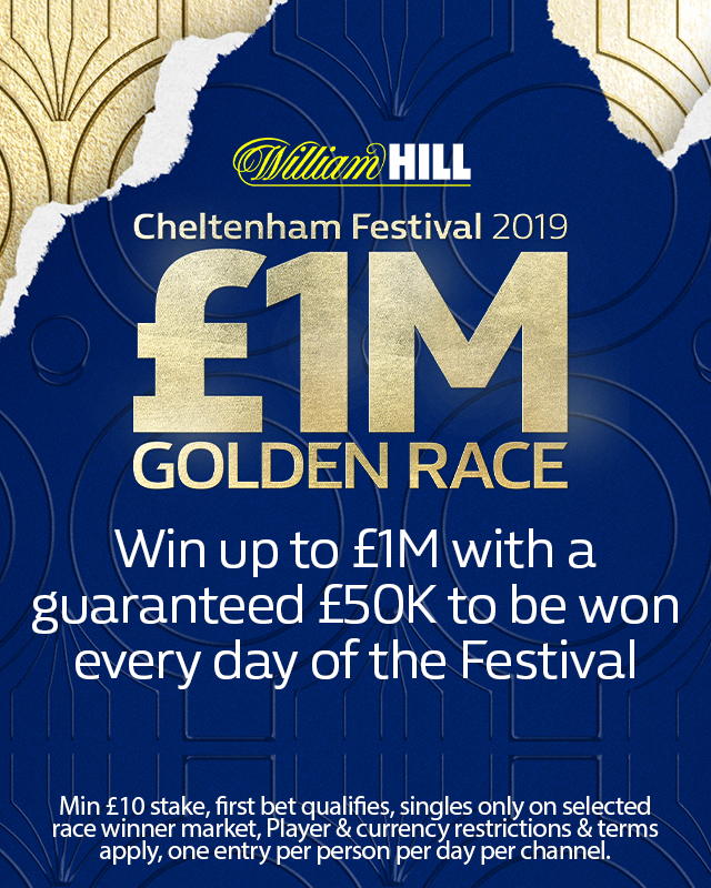 £1m Cheltenham Golden Race