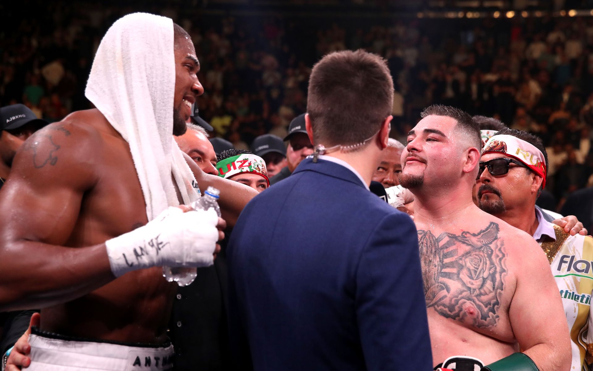 Anthony Joshua vs Andy Ruiz II betting odds